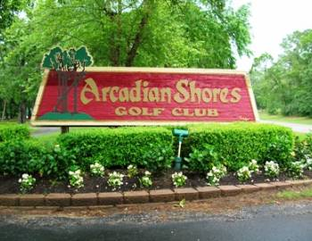 Arcadian Shores Golf Myrtle Beach