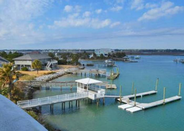 Garden City Beach Rentals with Dock Access
